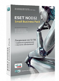 ESET NOD32 Small Business Pack newsale for 3 user лицензия на 1 год
