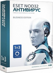 ESET NOD32 Antivirus Business Edition newsale for 5 user лицензия на 1 год
